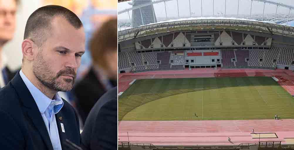 Stefan Holm blir VM-ambassadör