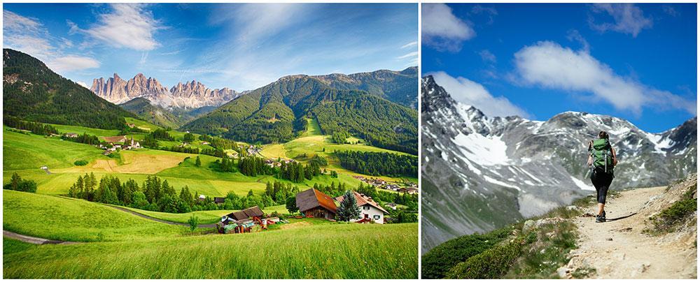 Andas frisk alpluft i Sydtyrolen.