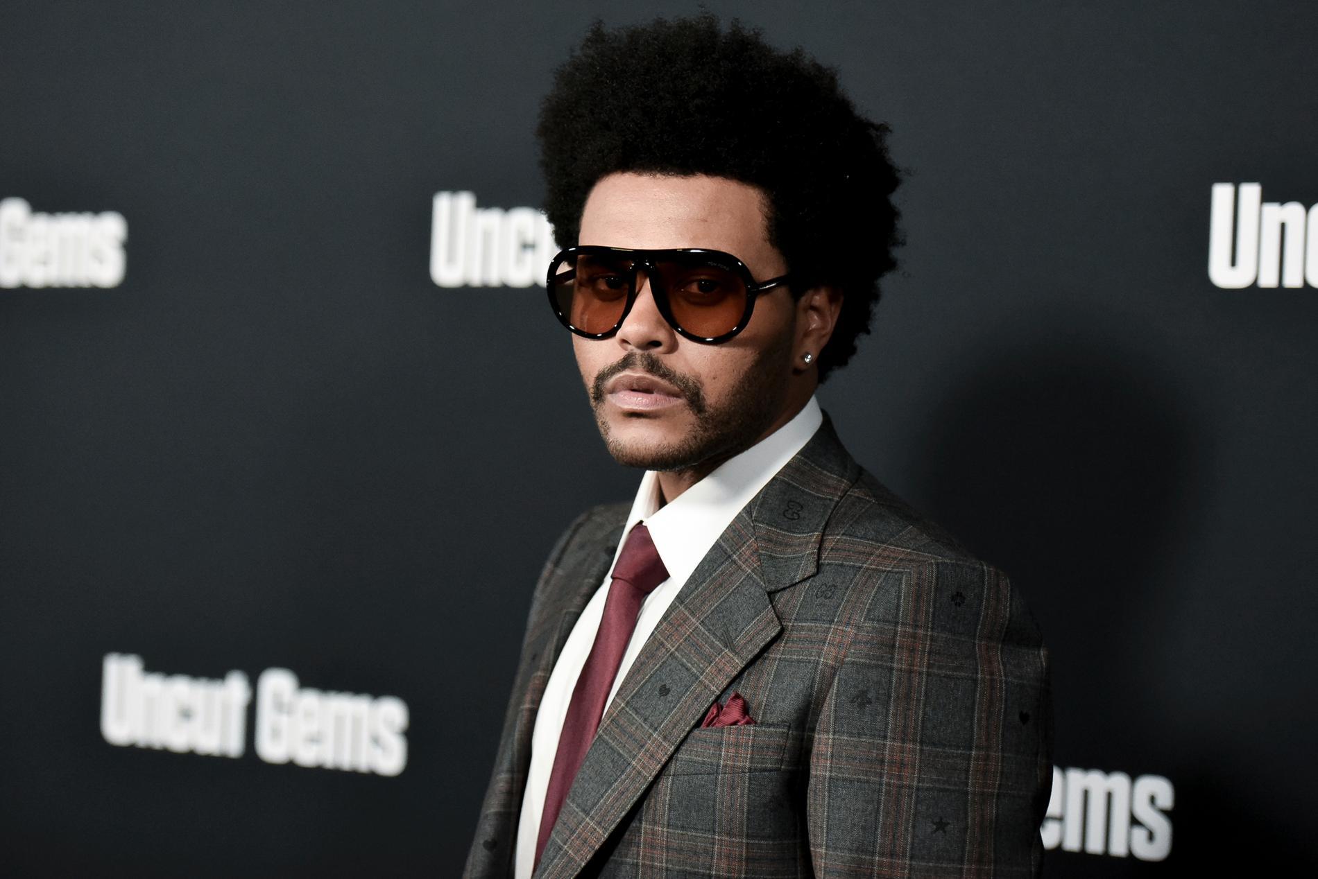"The Weeknd medverkar i serien ""The idol"". Arkivbild."