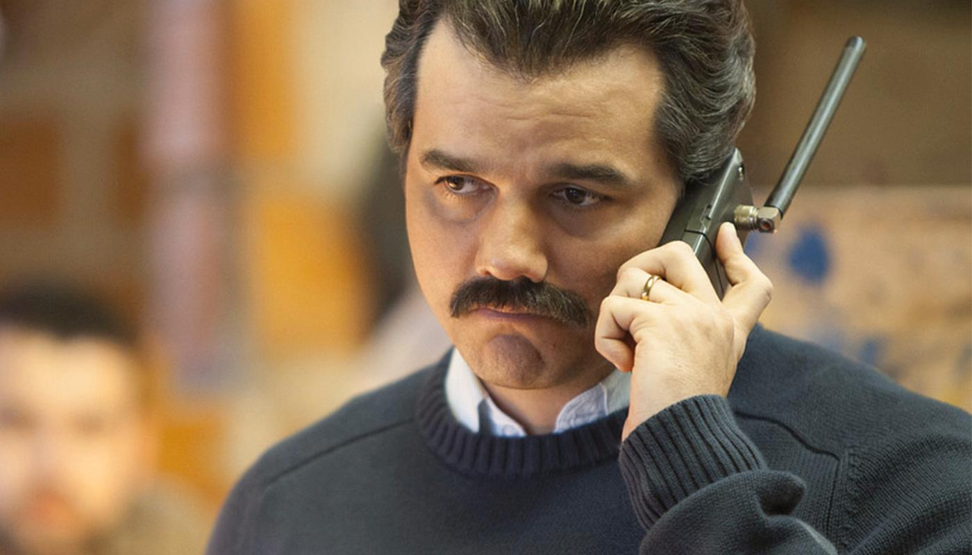 Wagner Moura i rollen som Pablo Escobar.
