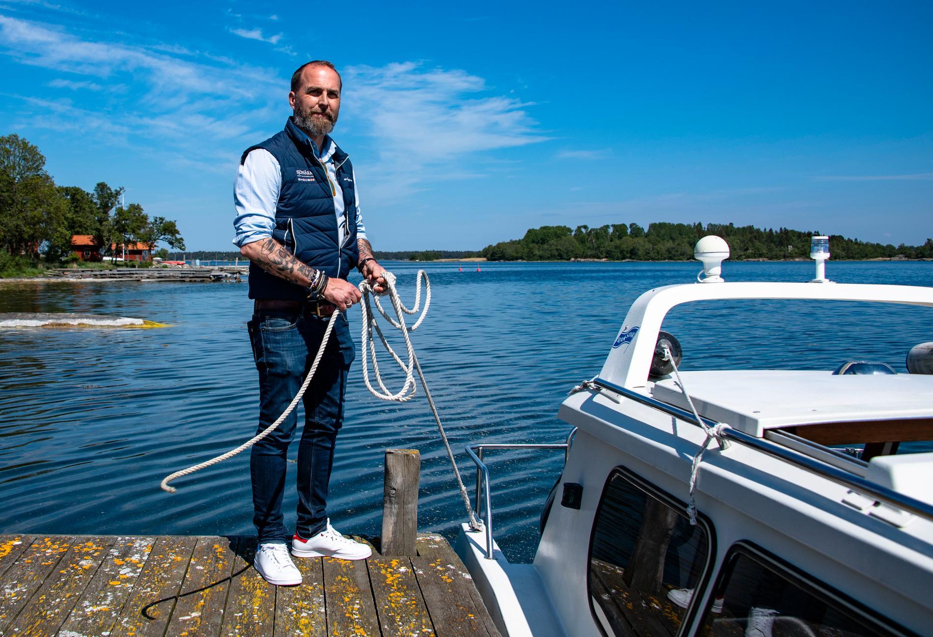 Johan Vogel är en av grundarna till Sjönära Fastigheter. En satsning han inte haft anledning att ångra.