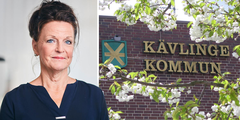 """Åtta chefer inom hemtjänsten i Kävlinge har tagit sin första vaccinspruta, före personalen. """"Helt fel"""", säger omsorgschef Ann-Louise Christensen."""