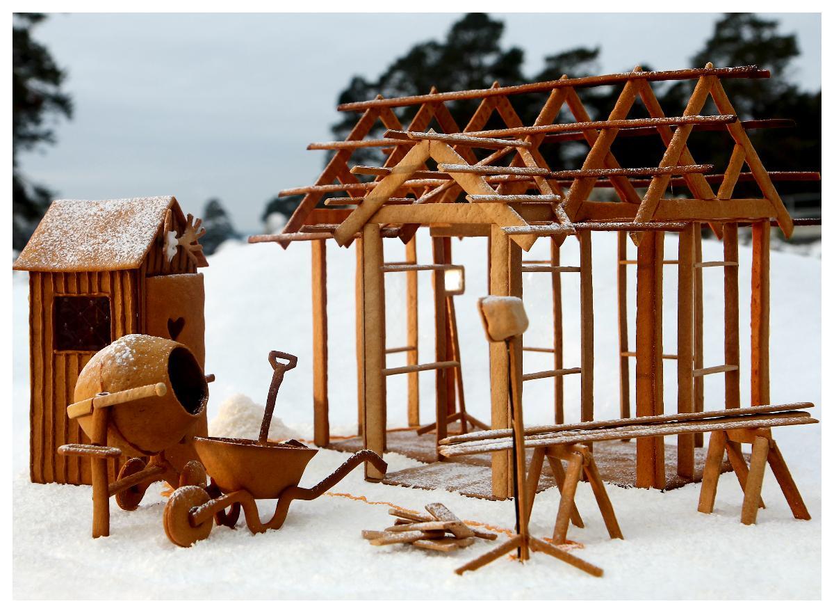 Pepparkakshusbygge