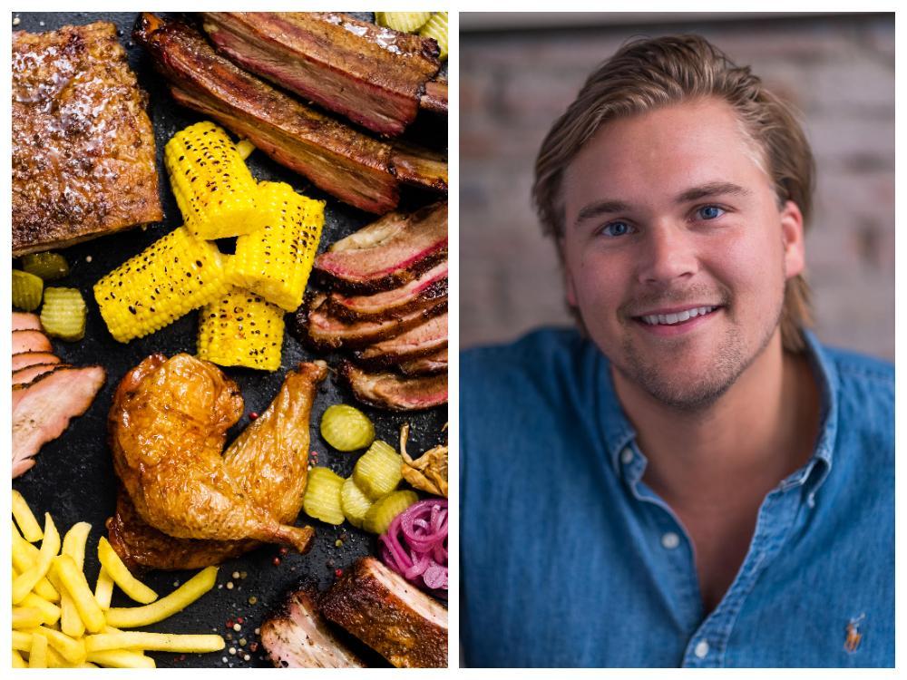 Det nordamerikanska köket är som ett hopkok, säger Marcus Martinsson.