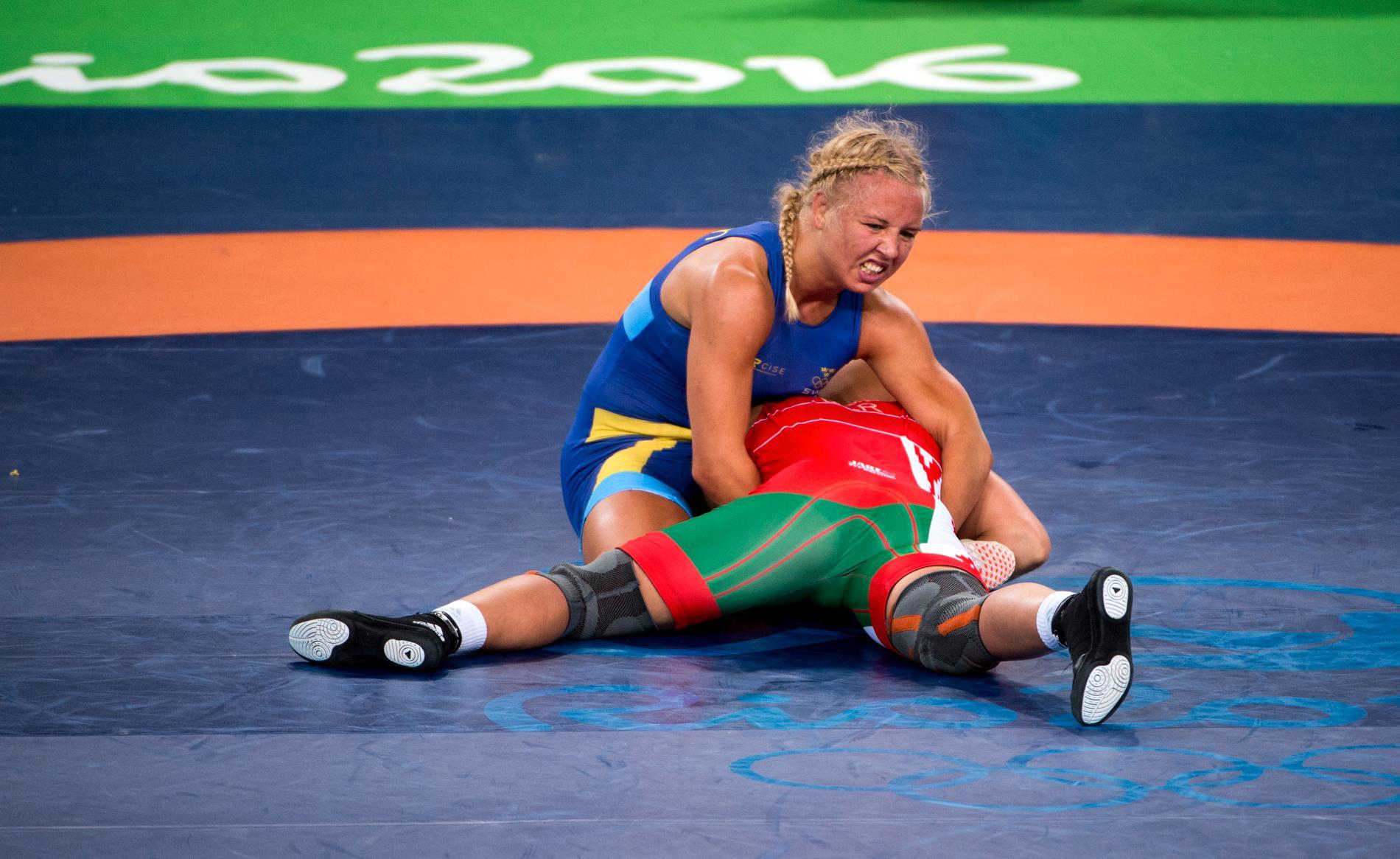 Henna Johansson åkte ut i kvartsfinal i Rio. I år hoppas hon på medalj.