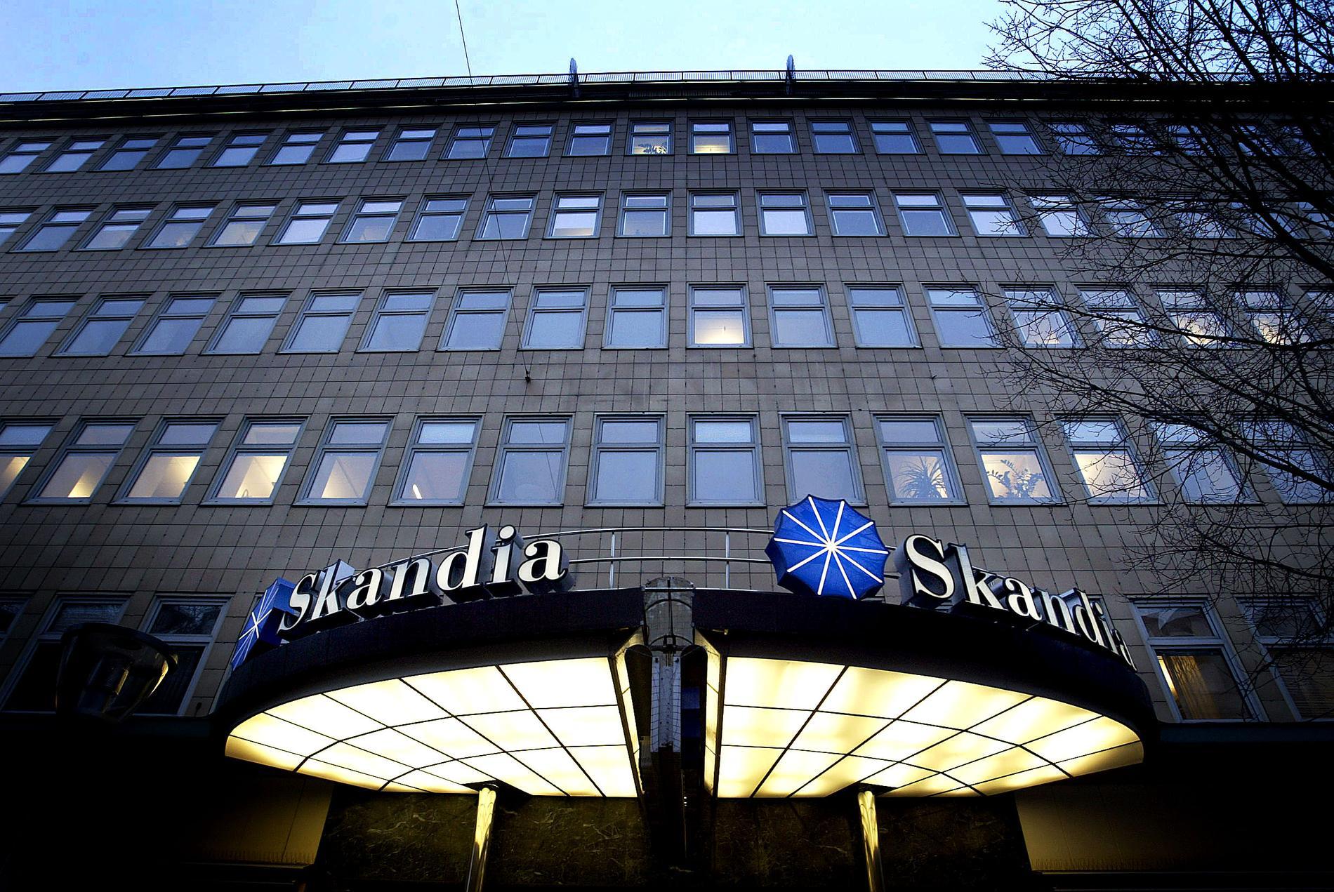 Skandias huvudkontor på Sveavägen i Stockholm.
