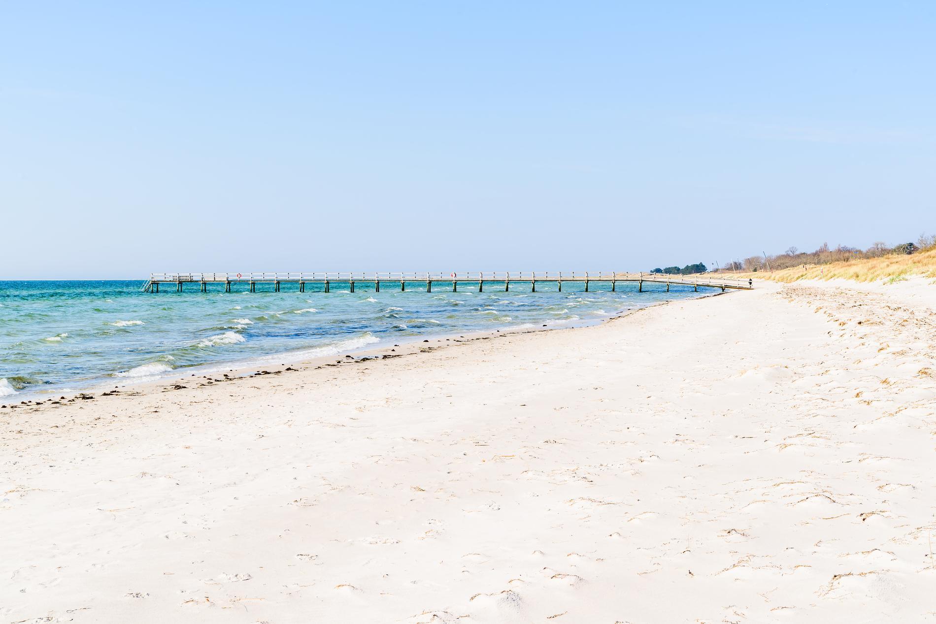 Falsterbo strand är en långgrund strand.