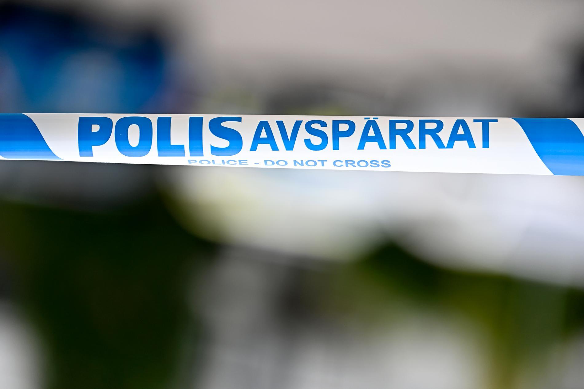 Polisen utreder den allvarliga olyckan där en vägg rasat över ett barn i Karlshamn. Arkivbild.