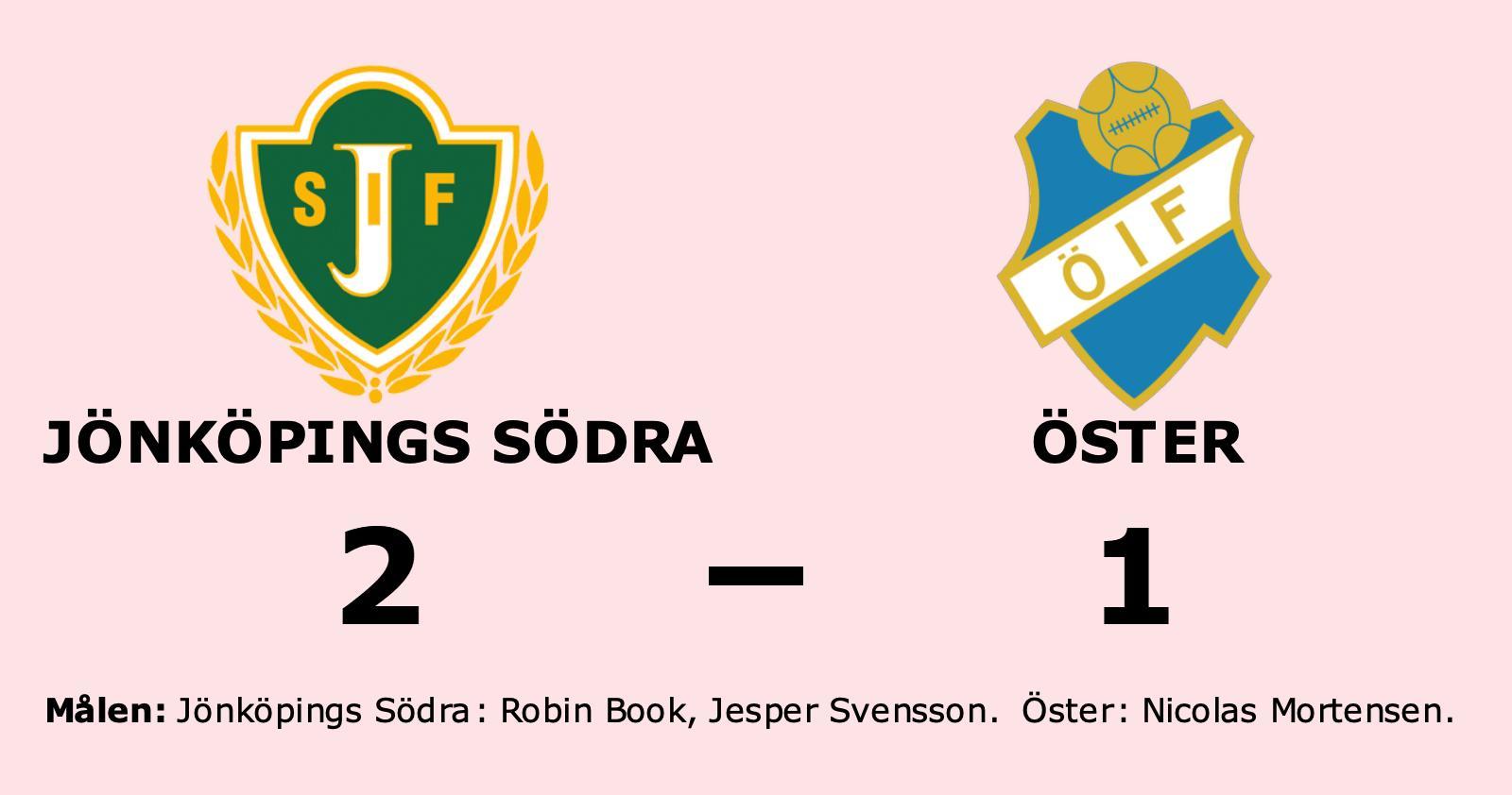 Jönköpings Södra besegrade Öster på hemmaplan