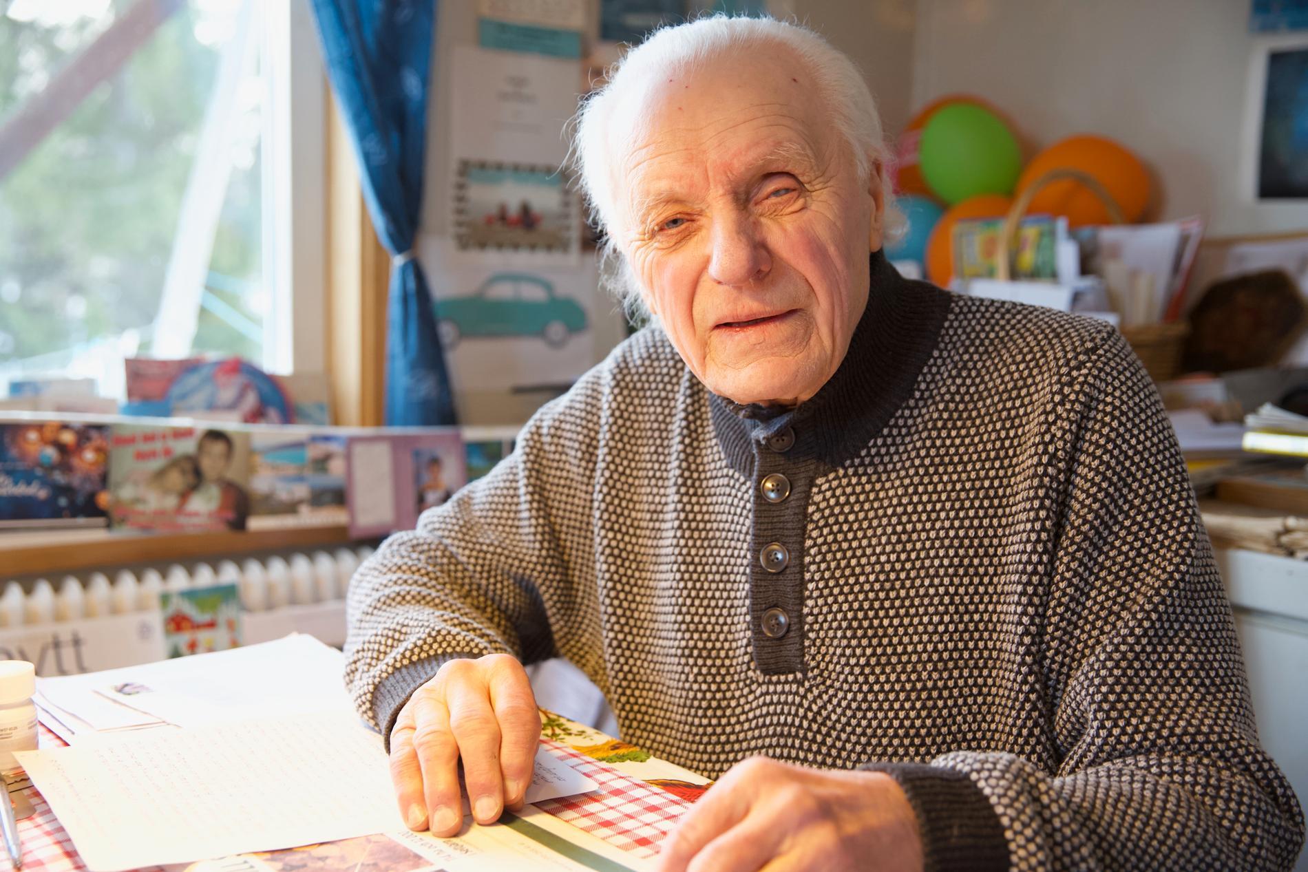 Arne Gavelin, 83, fick med stöd av Centrum för rättvisa den felaktiga domen upphävd.