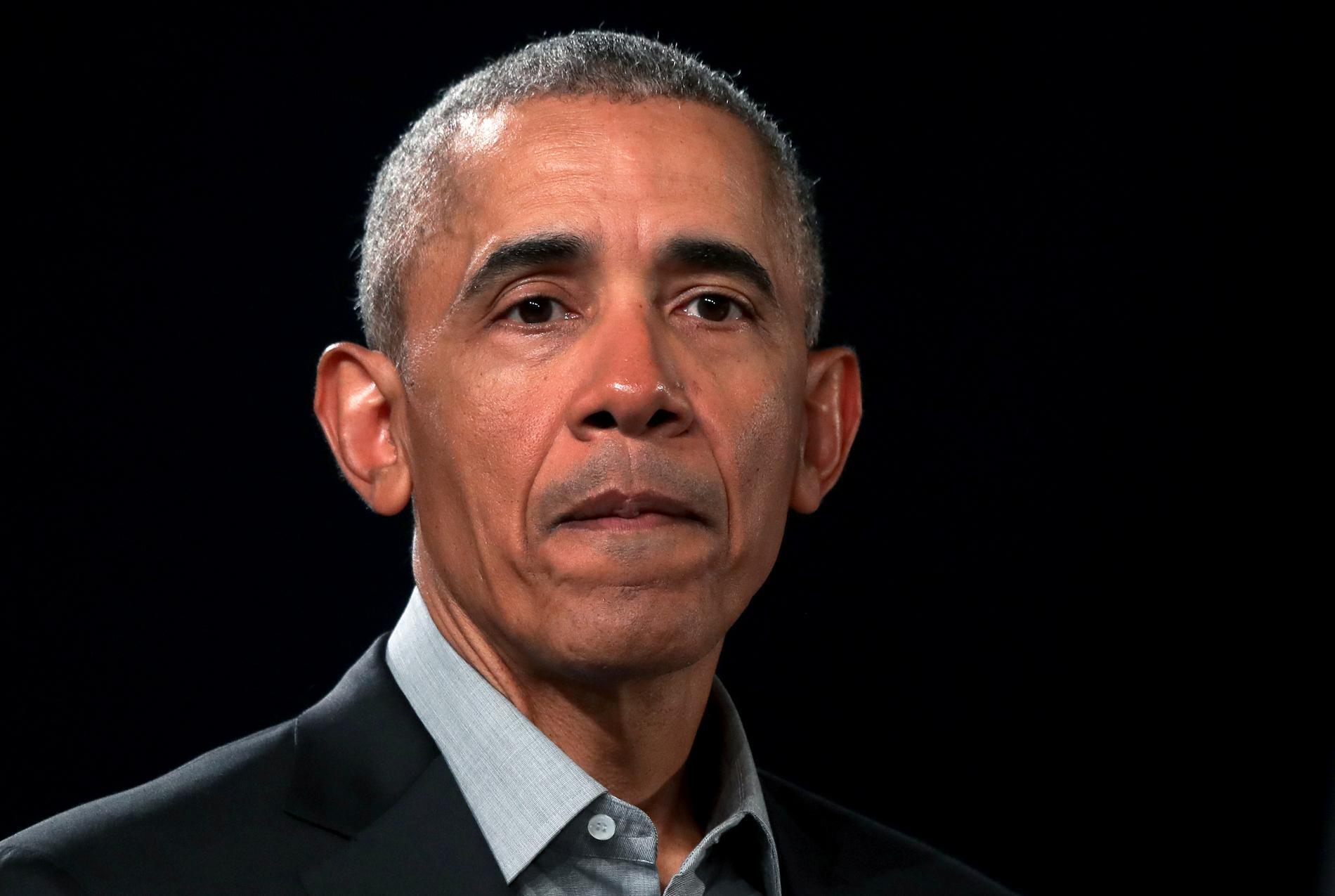 USA:s förra president Barack Obama är i Sverige för att tala på konferensen Brilliant minds. Arkivbild.