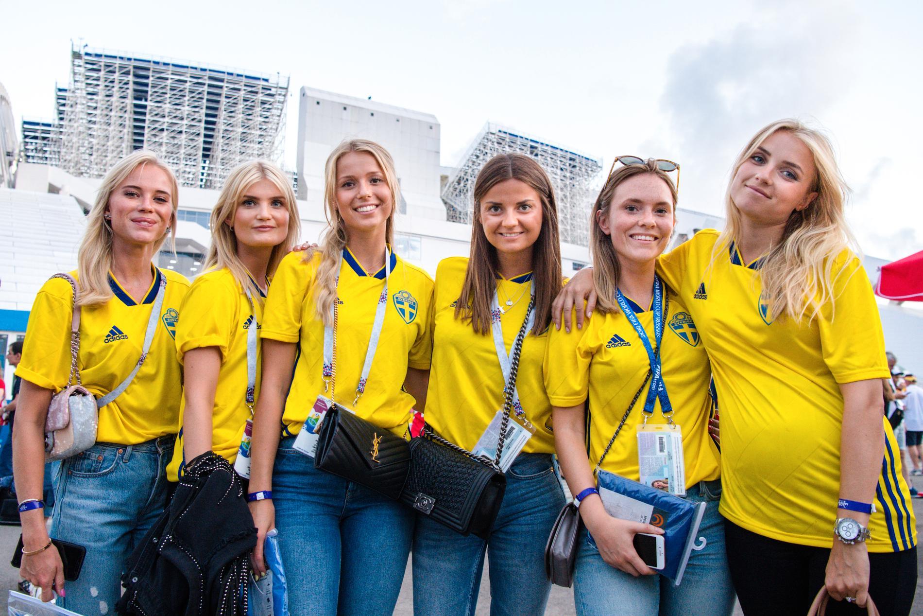 Spelarnas fruar och flickvänner under VM 2018