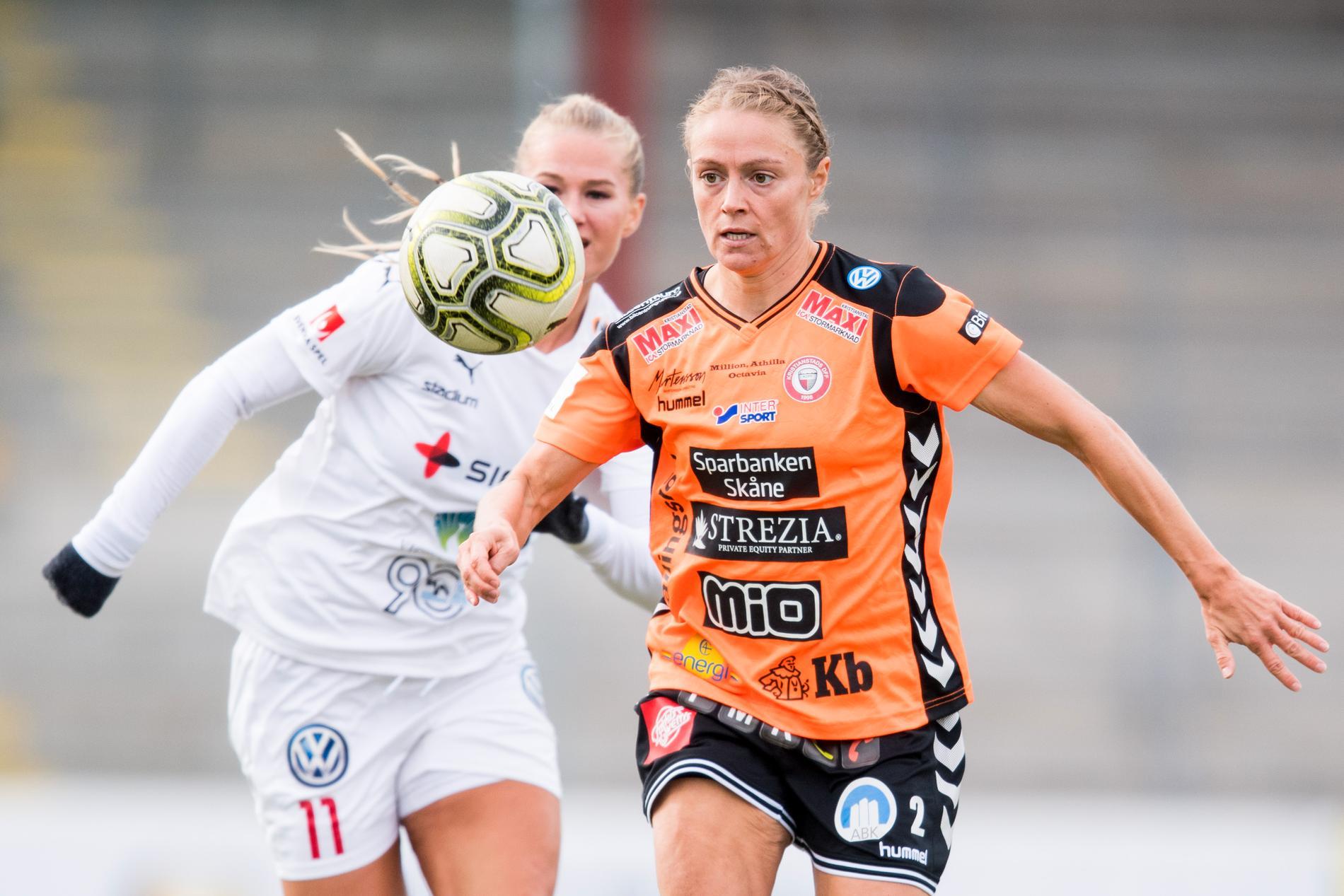 Sif Atladottir spelar i Kristianstad.