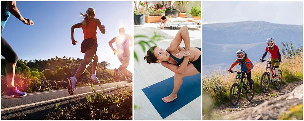 Allt fler vill kombinera träning med sin semester.