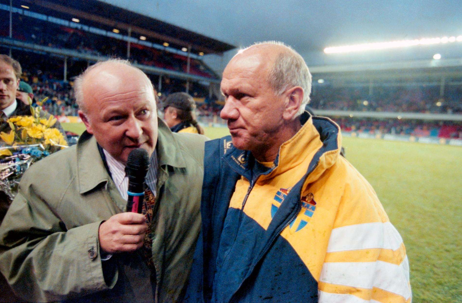 Lars-Åke Lagrell och Tommy Svensson.