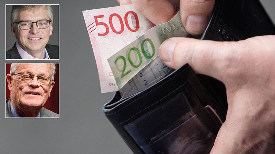 Att handeln vägrar ta emot kontanter är möjligen ett litet problem i våra större städer. På landsbygden eller i mindre orter kan det däremot helt utestänga människor, skriver Björn Eriksson och Per Åsling.