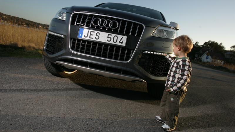 """""""Grrr...jag bits!"""" Audis monstersuv Q7 V12 TDI både skrämmer och lockar"""