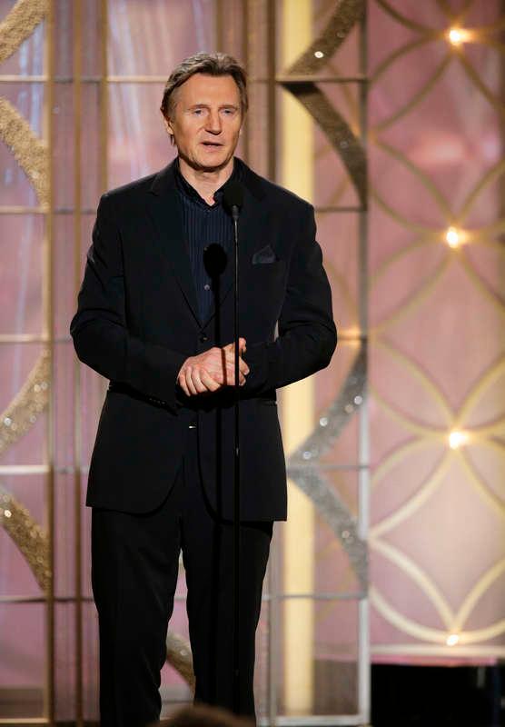 På Golden Globe-galan i januari.
