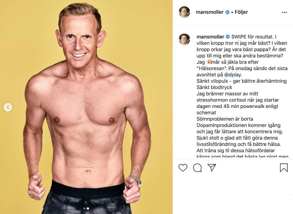 """Nu visar komikern upp sin nya kropp efter """"16 weeks of hell""""."""