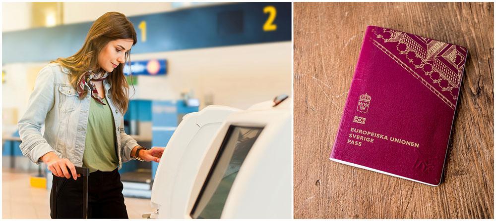 Var ute i god tid om du ska skaffa ett nytt pass.
