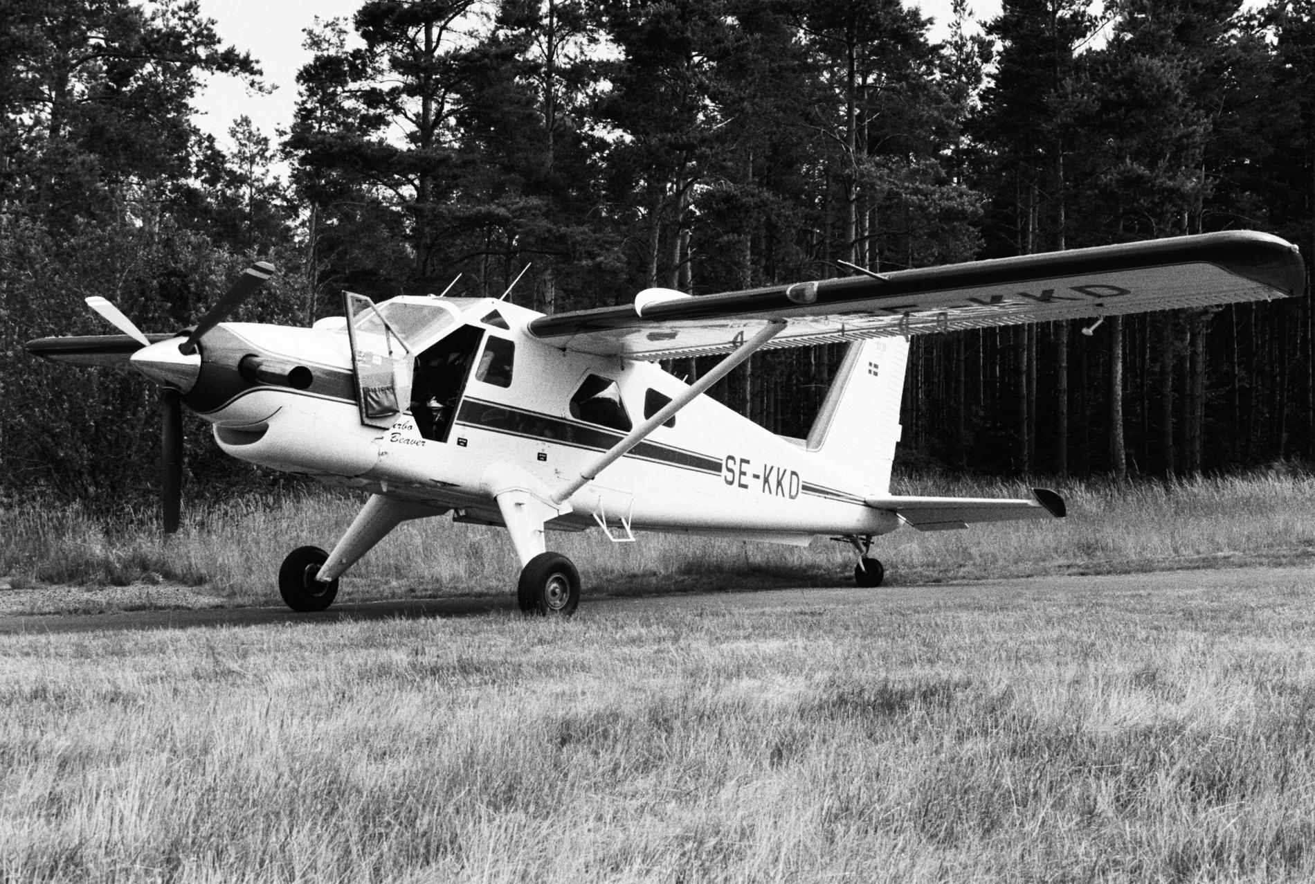 Planet som kraschade är av modellen de Havilland CanadaDHC-2 Beaver och tillverkades 1966