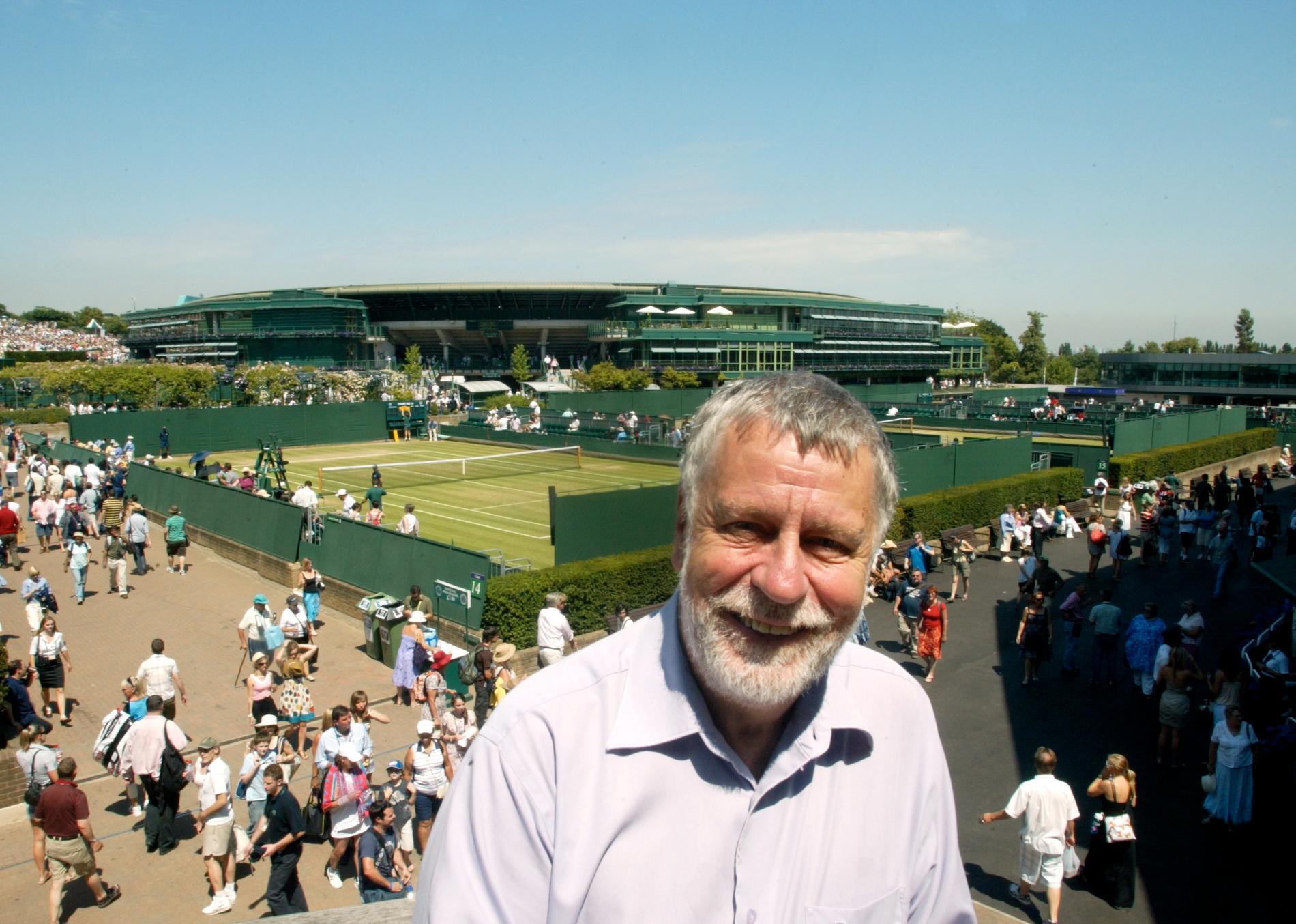 Tennisoraklet på plats 2009.