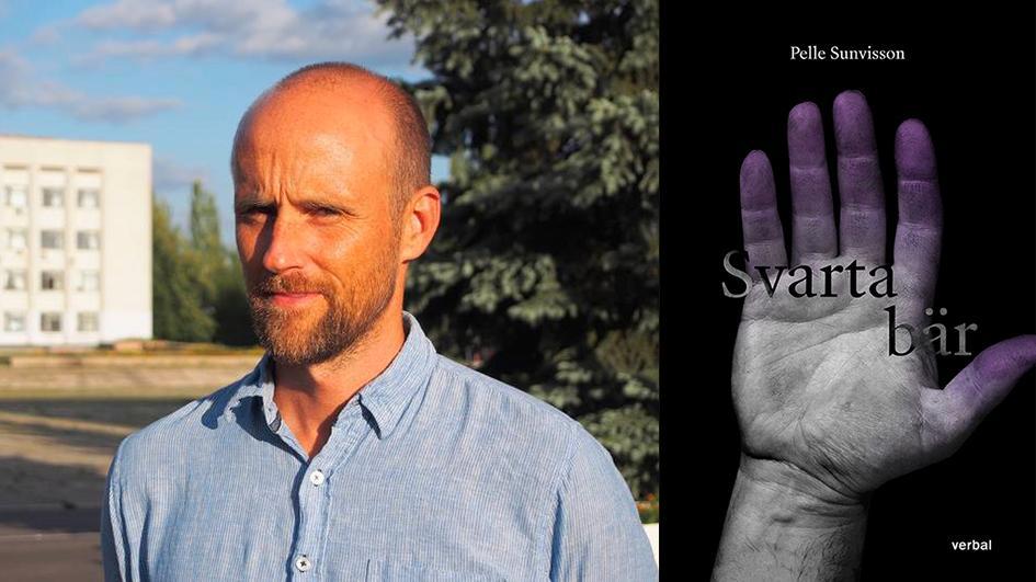 """""""Det gör ont att läsa eftersom Pelle Sunvisson vet vad han berättar om då han själv har wallraffat som papperslös, i olika branscher"""" skriver Åsa Linderborg om """"Svarta bär""""."""