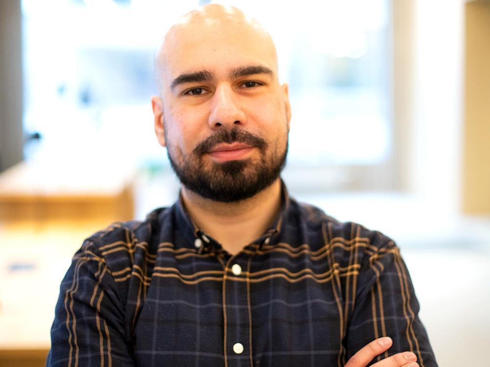 Arbetsförmedlingens jobbsökarexpert Omid Rahmanian.