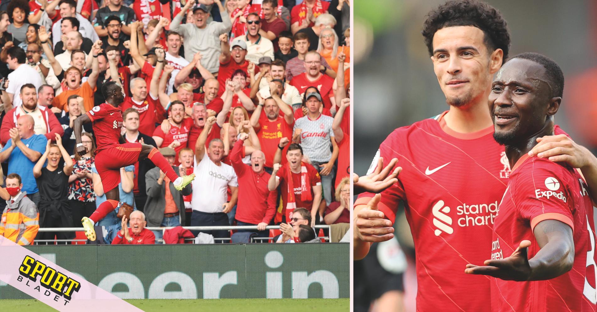 Liverpool i topp efter hans 100:e