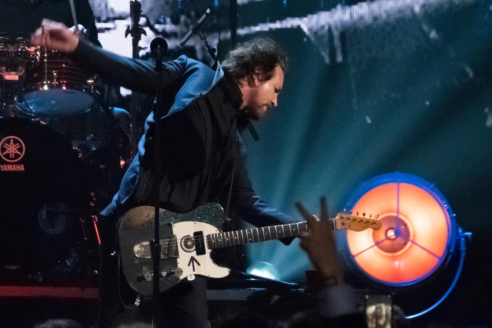Pearl Jam kommer till Lollapalooza nästa år. Arkivbild.