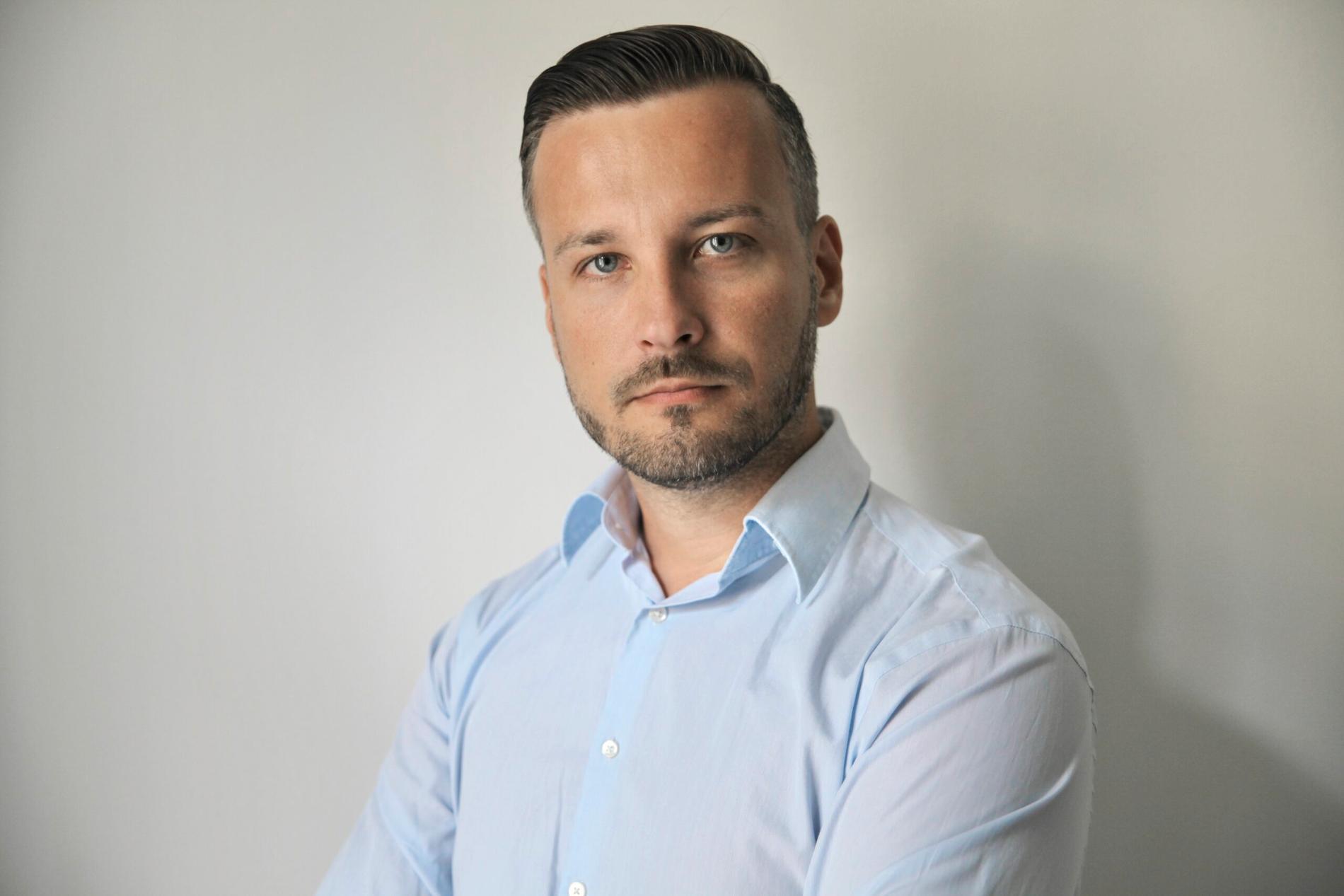 Michael Sender, belarusisk bloggare och entreprenör.