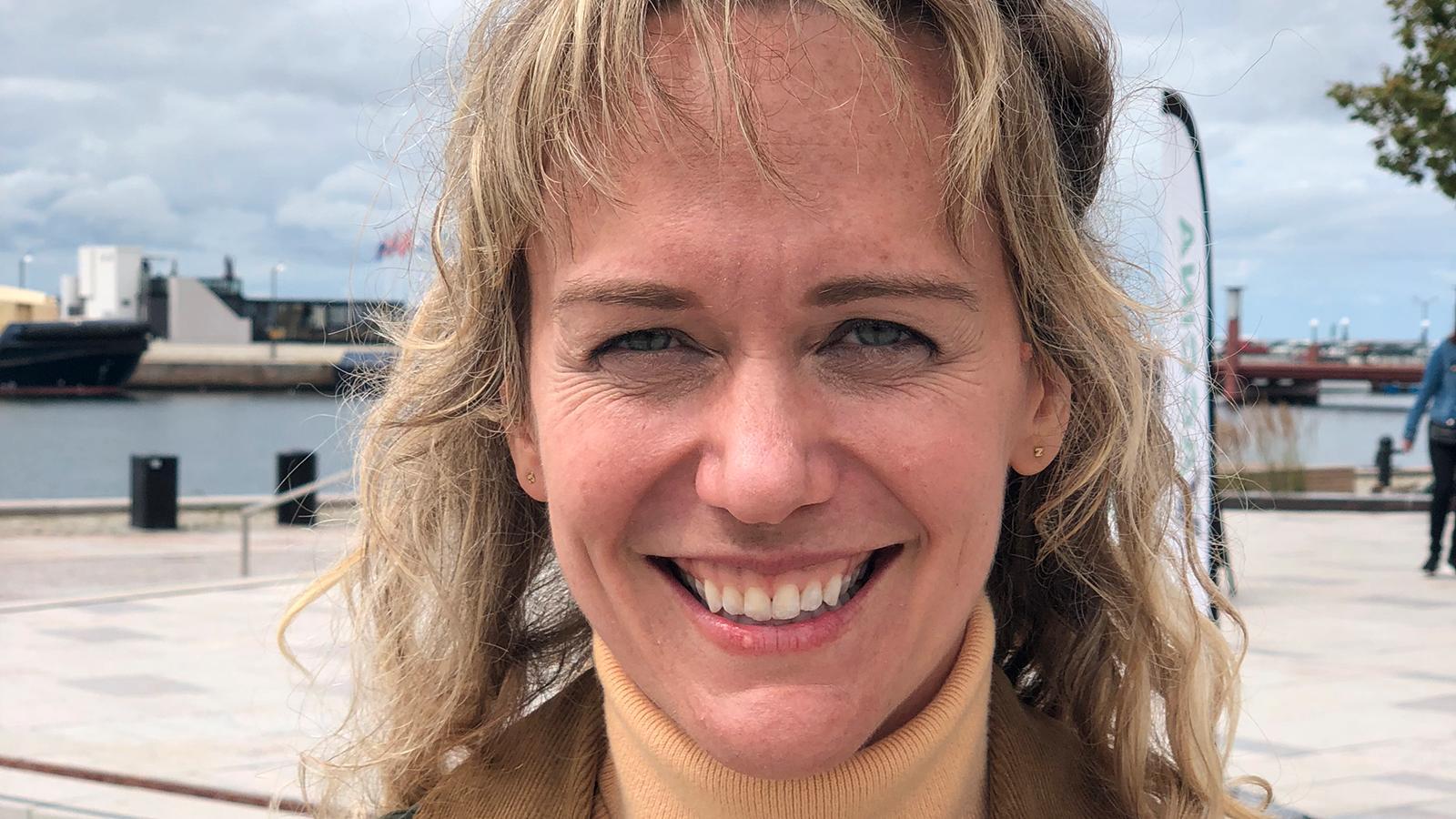 """Sally Franson, en av de tio amerikaner som ska delta i """"Allt för Sverige""""."""