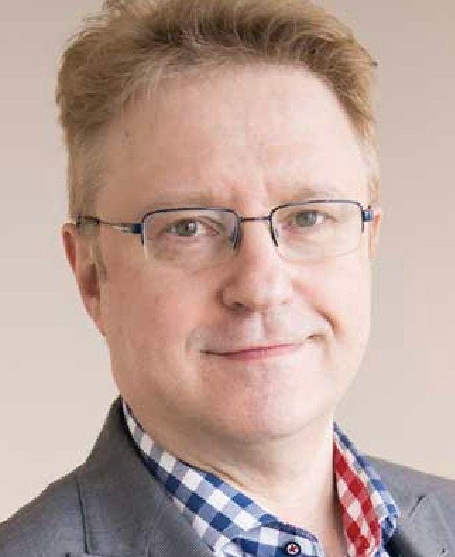 Fredrik Sieradzki, informationsansvarig vid Judiska församlingen i Malmö.