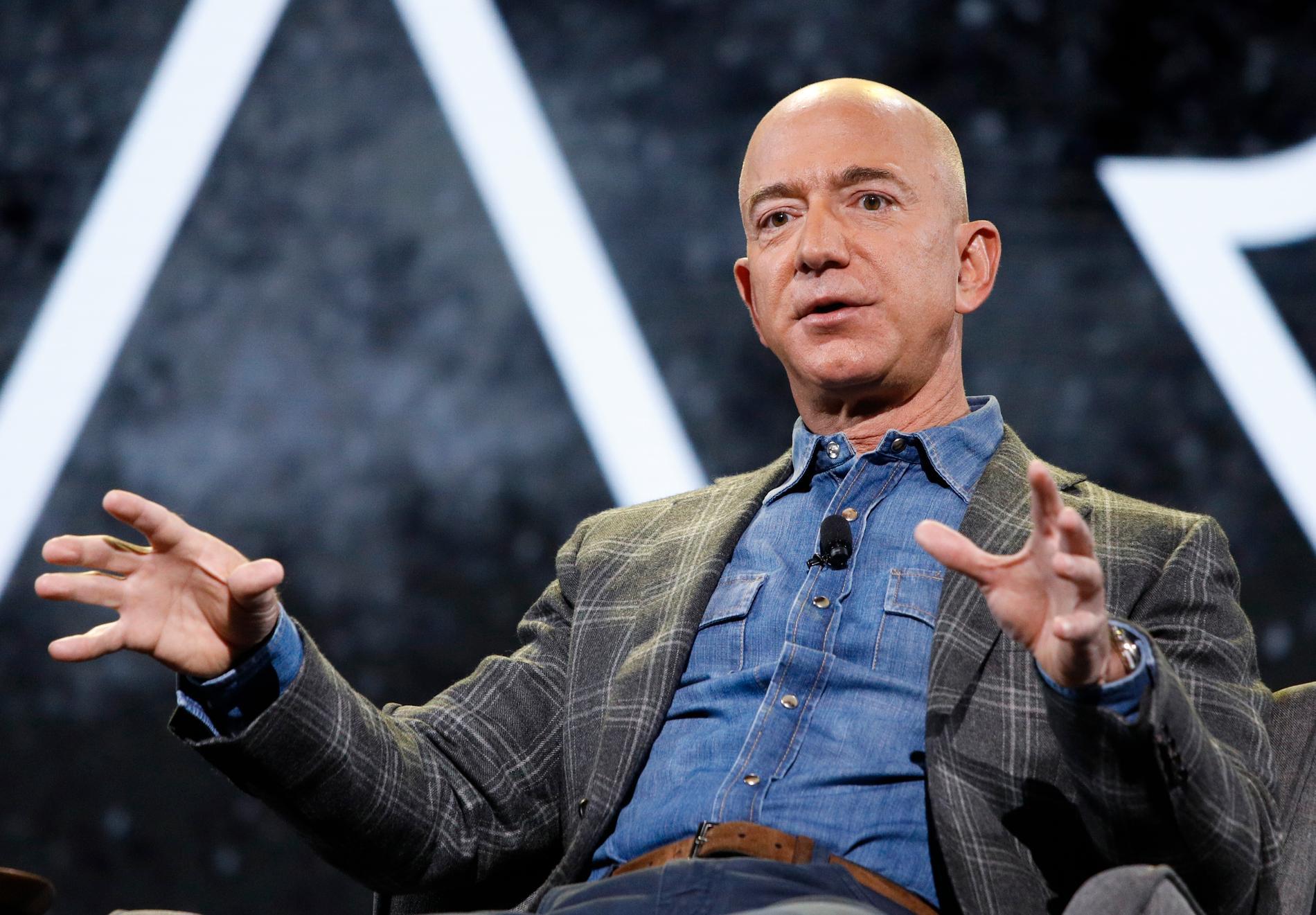 Amazons grundare och vd, Jeff Bezos.