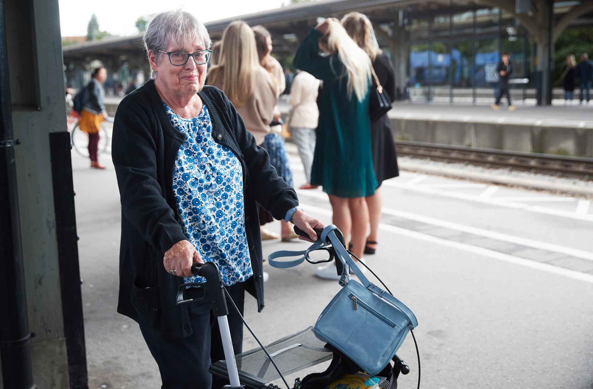 Anneli Christansen, 77.