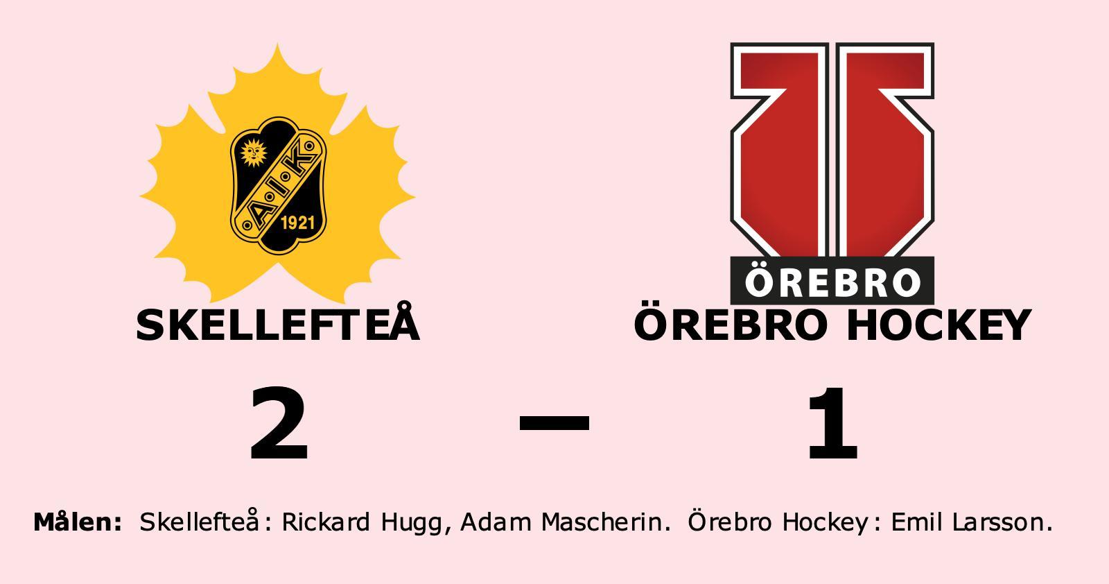 Emil Larsson enda målskytt när Örebro Hockey föll