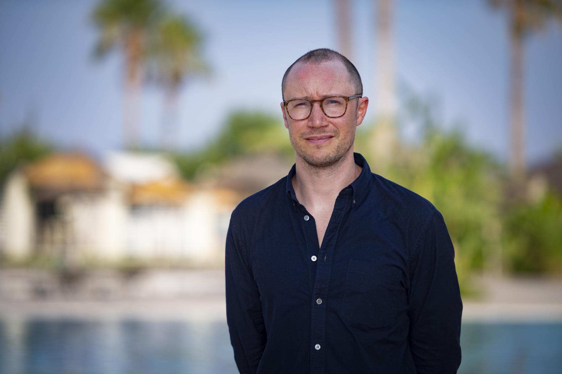 Adam Györki, kommunikationschef på nordiska TUI.