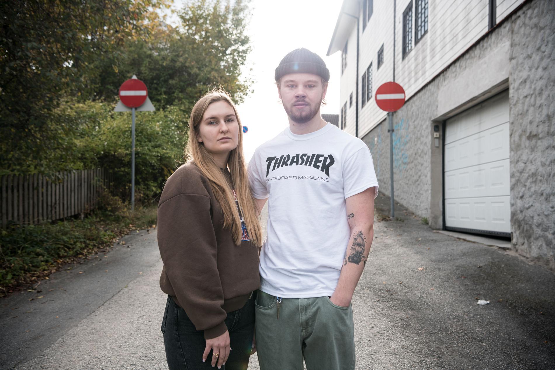 Adina och Emil bodde grannar med den misstänkte pilbågsmannen.