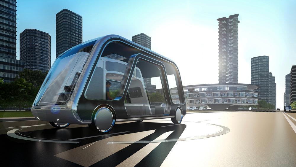 Autonomous Travel Suite – självkörande hotellrum.