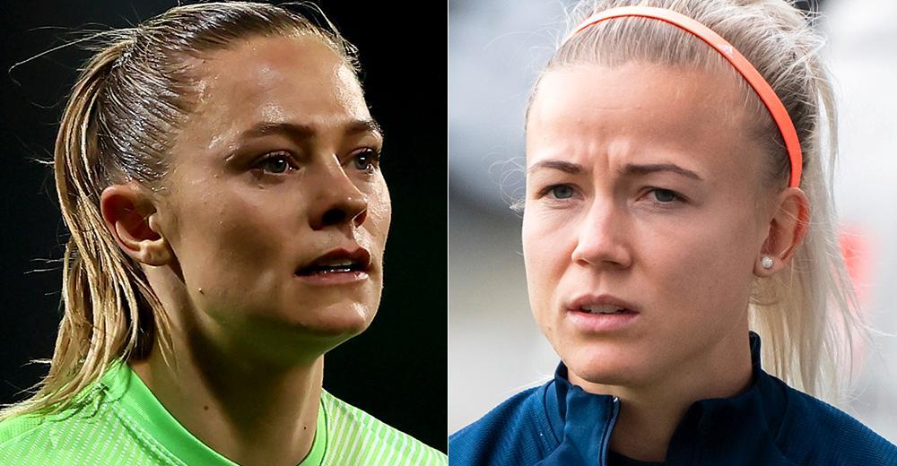 Fridolina Rolfö och Hanna Glas.