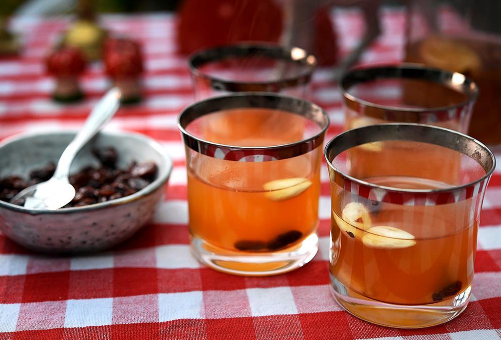 Alkoholfri äppelglögg