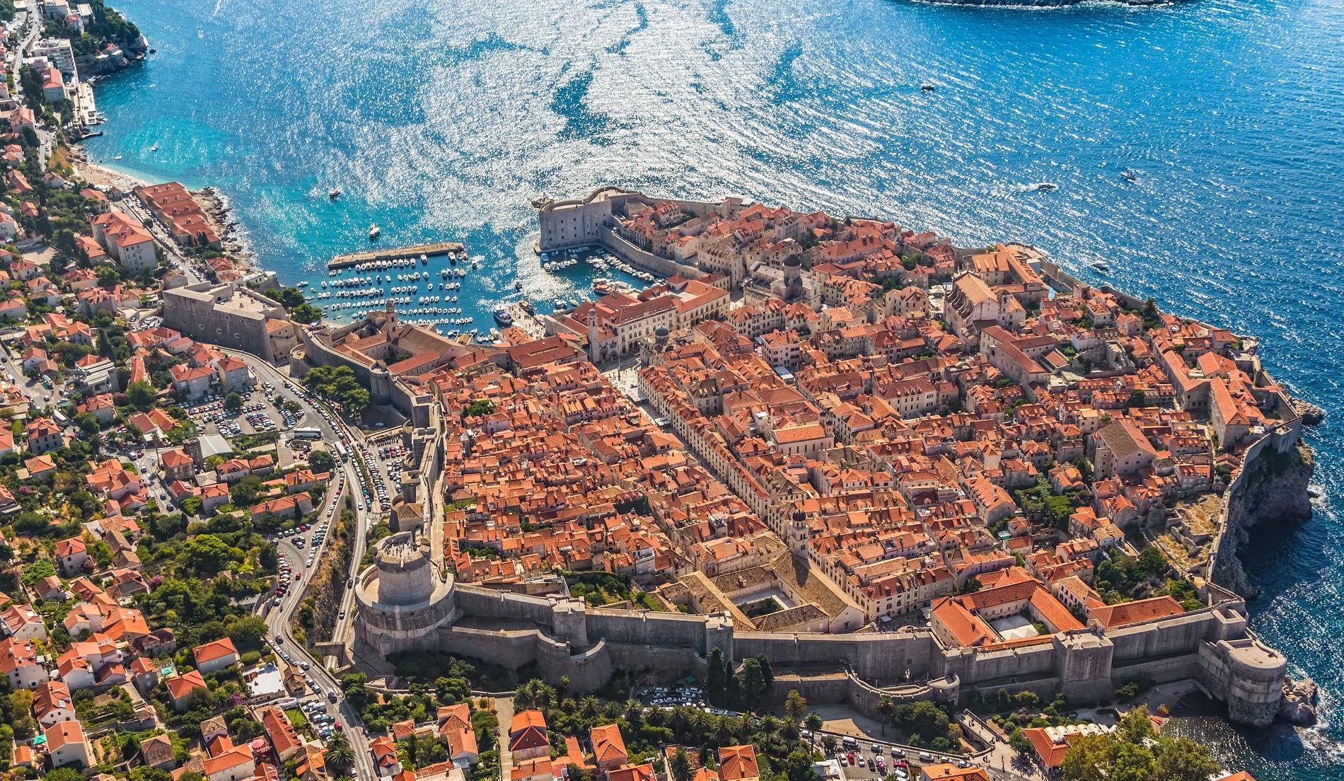 Dubrovnik är inspelningsplatser för flera scener i Game of Thrones.