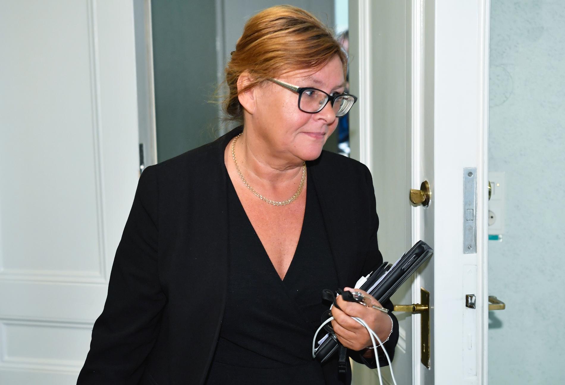 Gunilla Svantorp (S), ordförande i riksdagens utbildningsutskott.