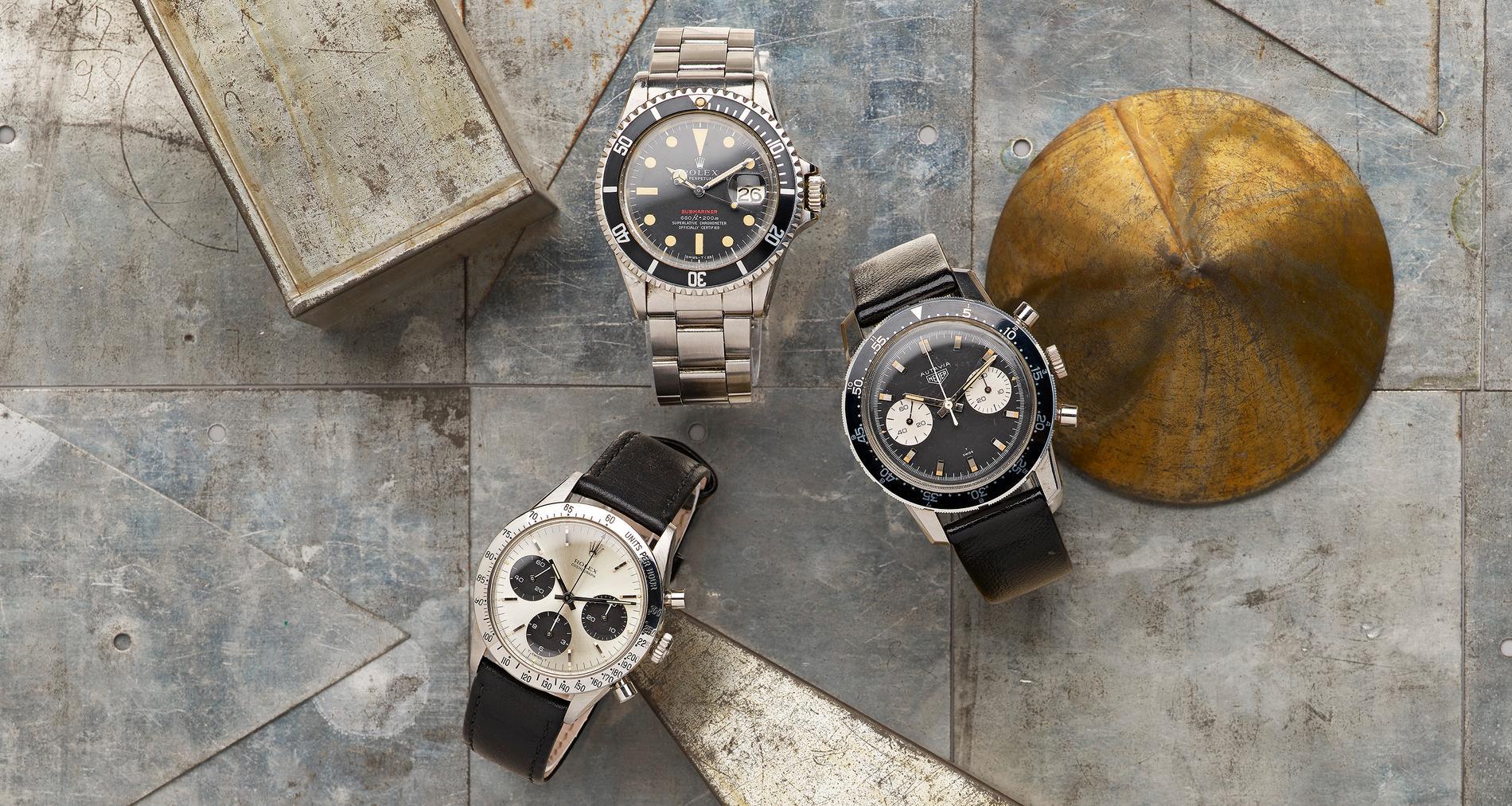 Suget efter begagnade exklusiva klockor är större än någonsin.