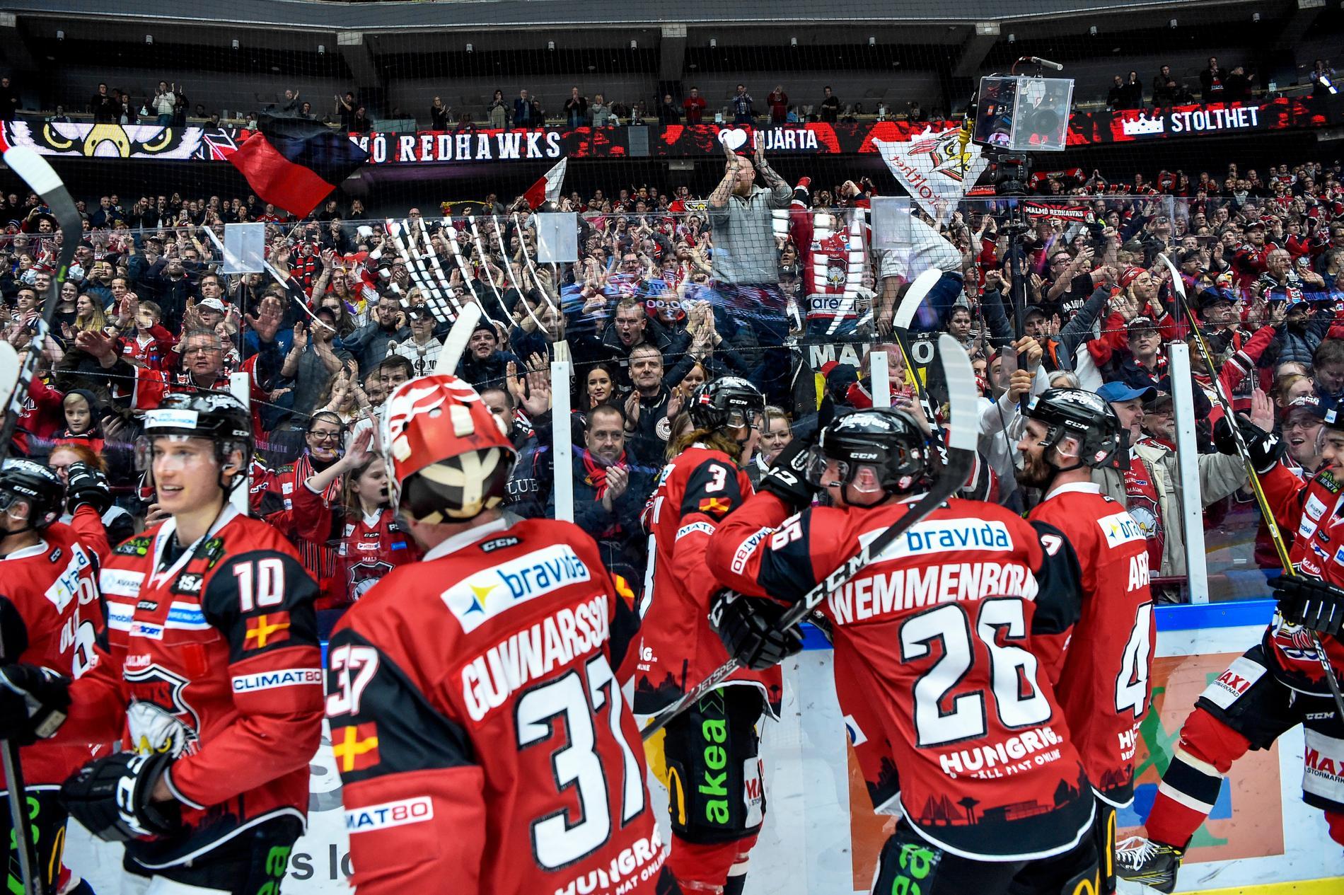 Malmö tog den sista direktplatsen till slutspelet i fjol.