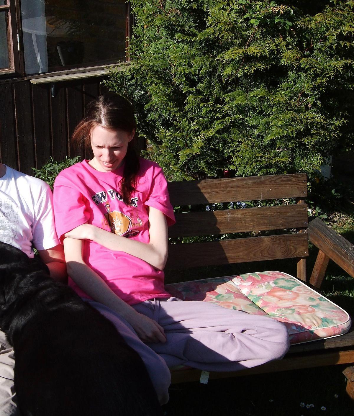 12 DAGAR KVAR Den här bilden togs den 19 maj 2011. 12 dagar senare var Emilia död.