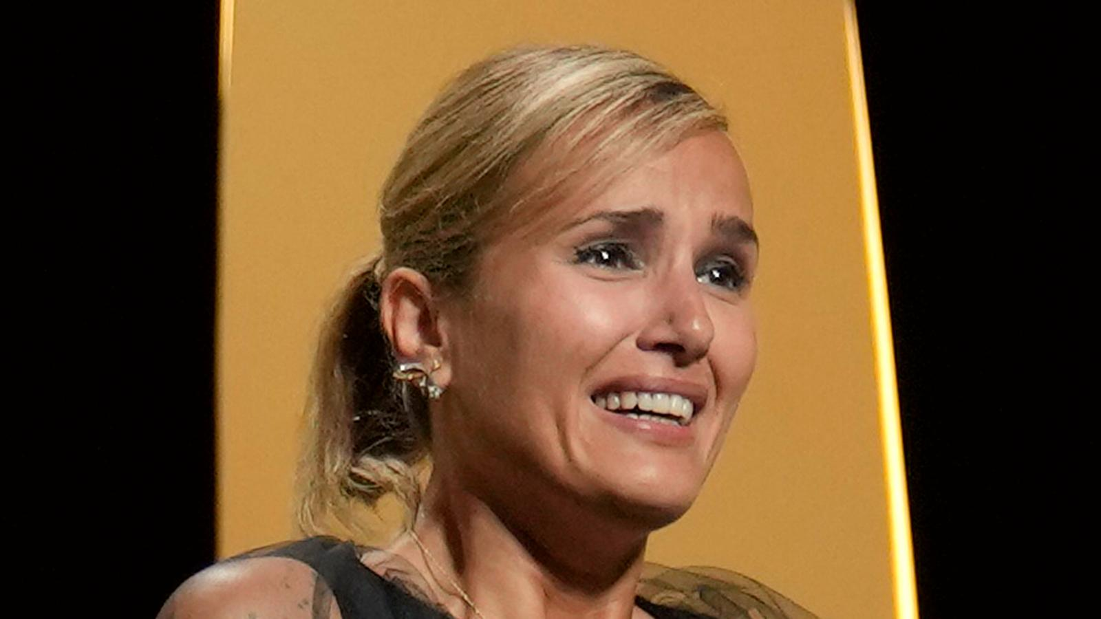 """Julia Ducournau har regisserat vinnarfilmen """"Titane""""."""