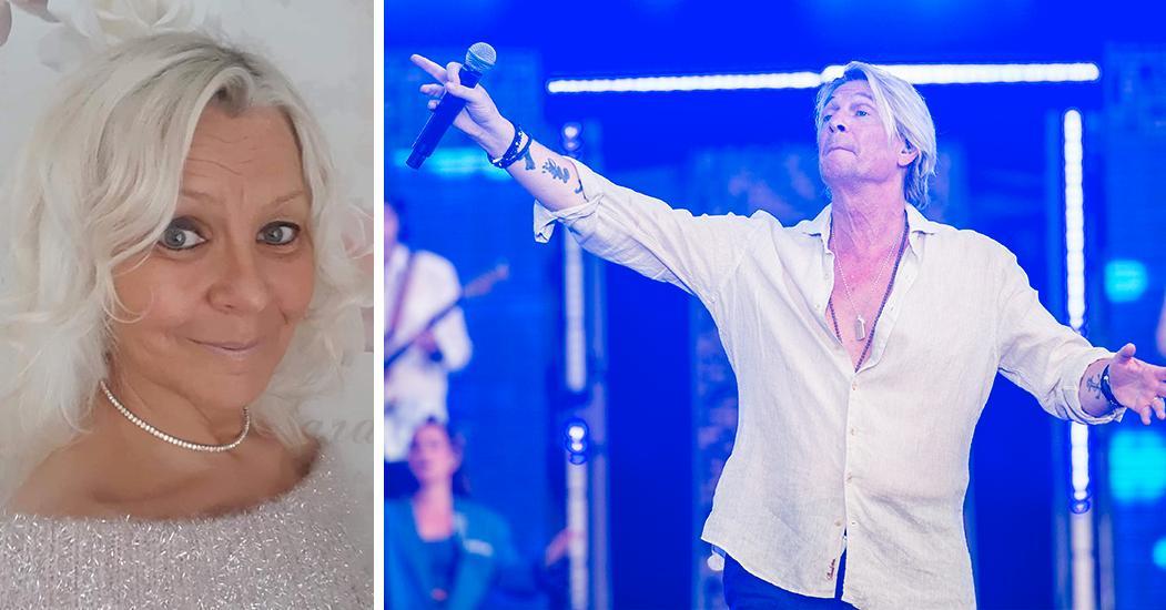 Berits dröm uppfylld – fick sjunga med Tommy Nilsson