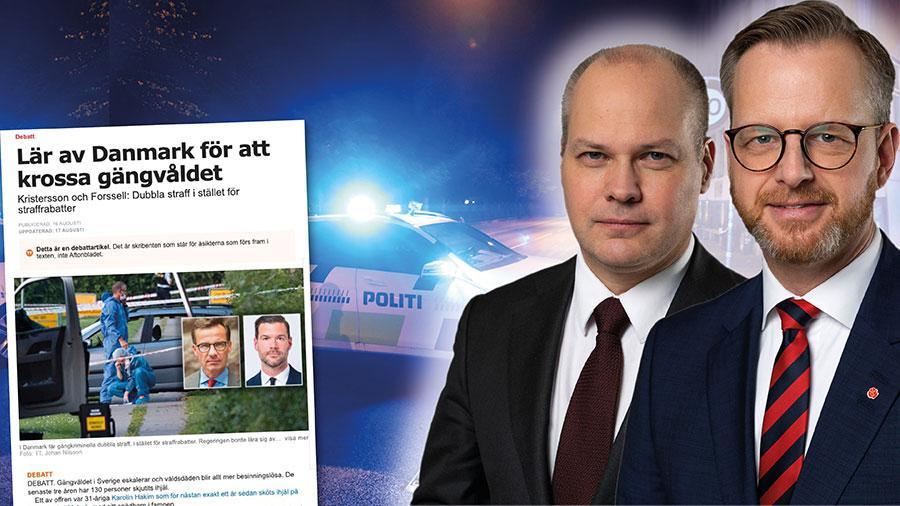 Det finns såväl likheter som skillnader mellan våra länder. I Sverige, liksom i Danmark, kan man dömas till hårdare straff om brottet utgjort ett led i en brottslighet som utövats i organiserad form, skriver Mikael Damberg och Morgan Johansson.