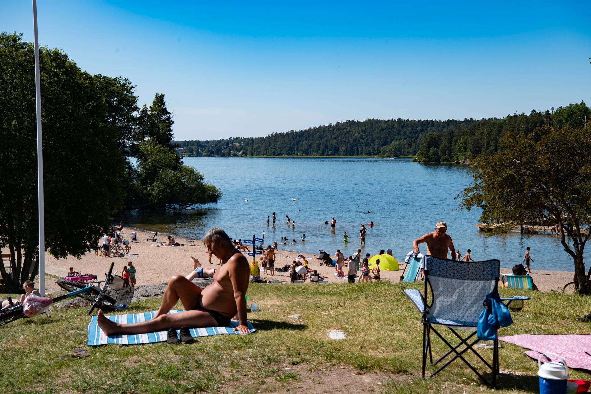 Många besökare vill att säkerheten förbättras på badplatsen.